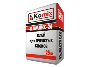 Клей для ячеистых блоков Камикс-26