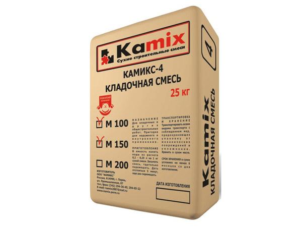 Кладочная смесь КАМИКС-4, М100