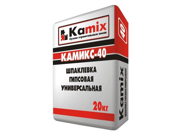 Шпаклевка гипсовая универсальная Камикс-40